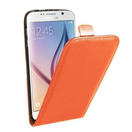 9780283540288: Vertical Flip Split funda carcasa de cuero para Samsung Galaxy S6(Black)