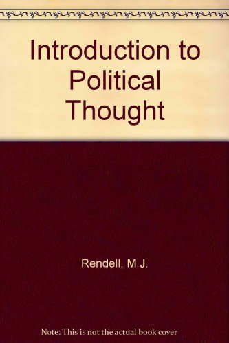 9780283981418: Introduction to Political Thought