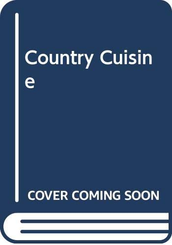 9780283986369: Country Cuisine