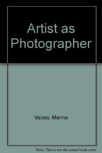 9780283991110: Artist as Photographer