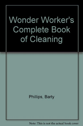9780283992810: Wonder Worker's Complete Book of Cleaning