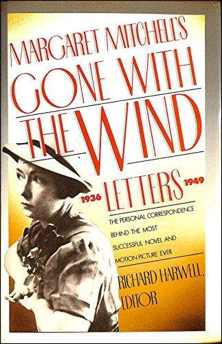Cover of the book, Gone with the Wind Letters.