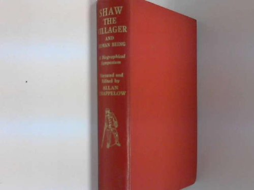 9780284391766: Shaw the Villager and Human Being: Symposium