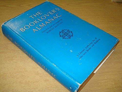 9780284795274: The booklover's almanac;