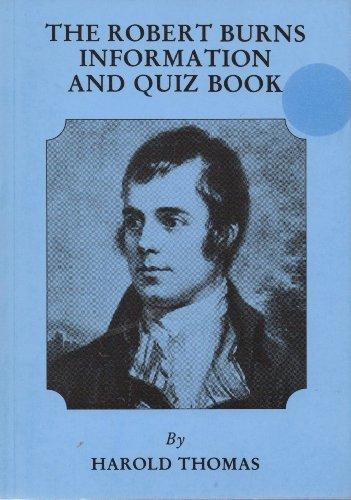 9780284987679: Robert Burns Information and Quiz Book