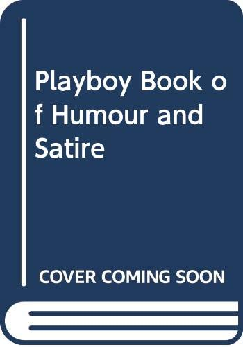 9780285501010: The Playboy Book of Humour and Satire