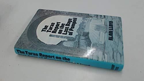 The Taras Report on the Last Days: Lloyd, Alan