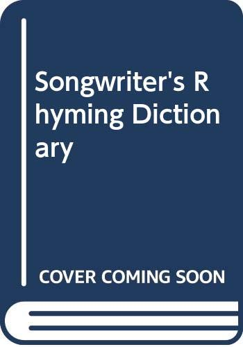 9780285626379: The Songwriter's Rhyming Dictionary