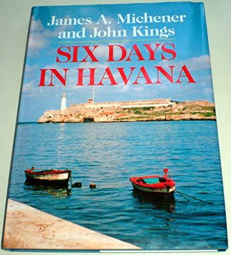 9780285629592: Six Days in Havana