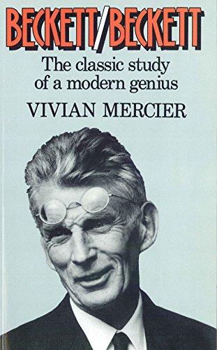 Beckett/beckett (The Classic Study of a Modern Genius): Mercier Vivian