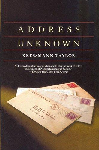 9780285636293: Address Unknown