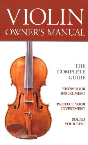 9780285636521: Violin Owners Manual