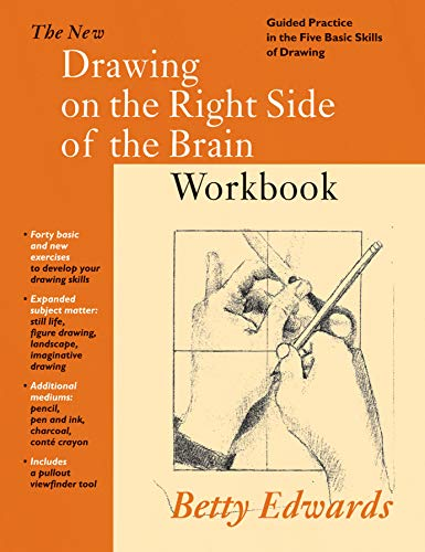 9780285636644: New Drawing on the Right Side of the Brain Workbook: Guided Practice in the Five Basic Skills of Drawing