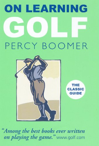 9780285638501: On Learning Golf