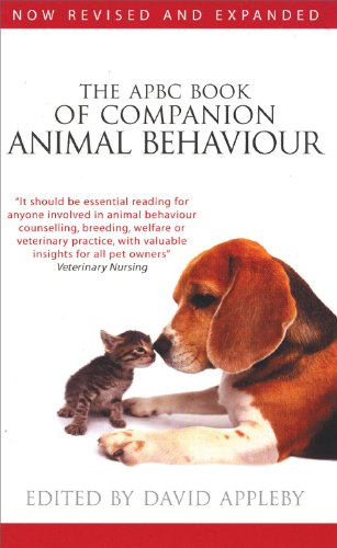 9780285638877: The APBC Book of Companion Animal Behaviour