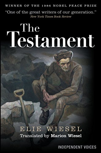 THE TESTAMENT. Translated from the French by Marion Wiesel.