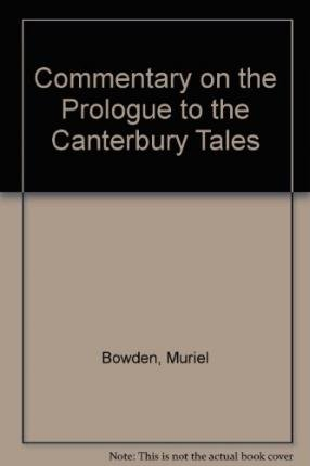 9780285647374: Commentary on the Prologue to the