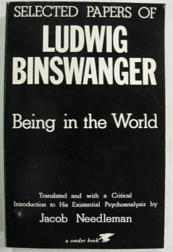 9780285647824: Being-In-The-World: Selected Papers of Ludwig Binswanger (Condor Books)