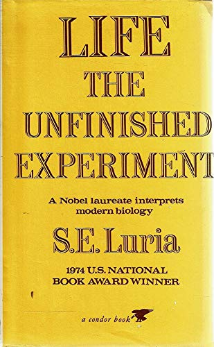 9780285648043: Life: The Unfinished Experiment (Condor Books)