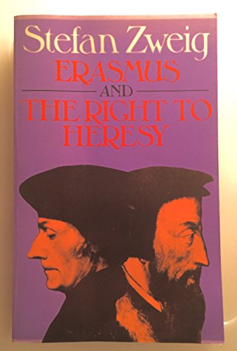 9780285648807: Erasmus and the Right to Heresy