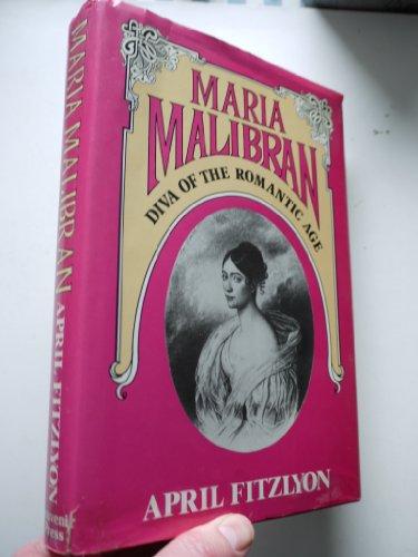 9780285650305: Maria Malibran: Diva of the Romantic Age