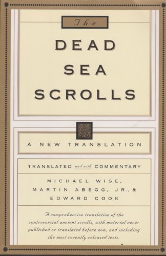 9780286158138: The Dead Sea Scrolls - A New Translation
