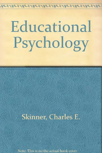 9780286629317: Educational Psychology