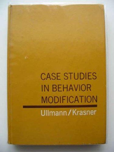 9780287620115: Case Studies in Behavior Modification