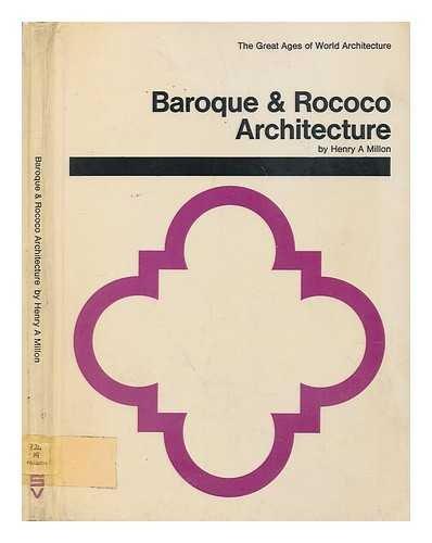 9780289370728: Baroque and Rococo Architecture