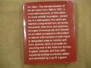 9780289703328: Six Years: Dematerialization of the Art Object