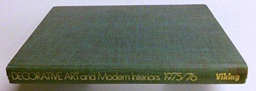 Decorative Art and Modern Interiors 1975/76.: Maria Schofield.