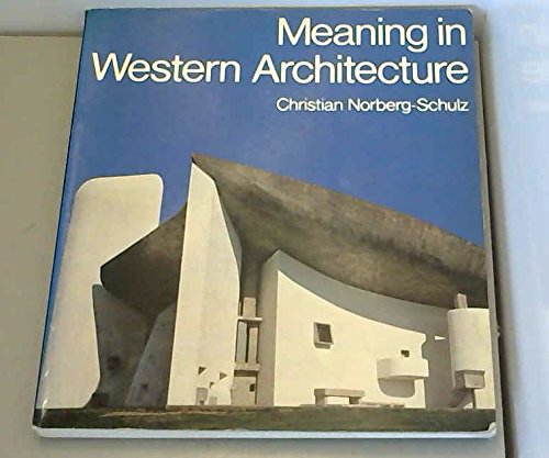 9780289706350: Meaning in Western Architecture (English and Italian Edition)