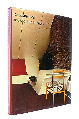 9780289707845: Decorative Art and Modern Interiors 1978