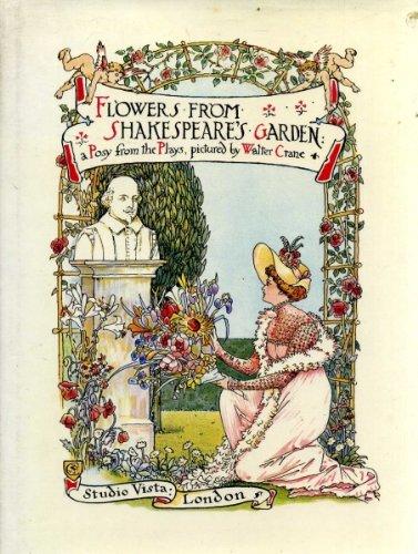 Flowers from Shakespeare's Garden: Walter Crane