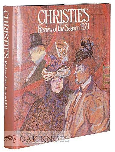 9780289709115: Christie's Review of the Season 1979