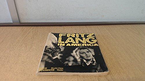 9780289796030: Fritz Lang in America (Movie Paperbacks)
