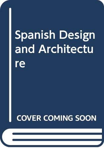 9780289800553: Spanish Design and Architecture