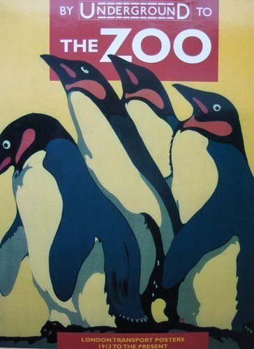 9780289801338: By Underground to the Zoo: London Transport Posters 1913 to the Present