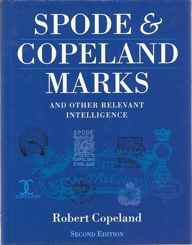 9780289801727: Spode and Copeland Marks: And Other Relevant Intelligence