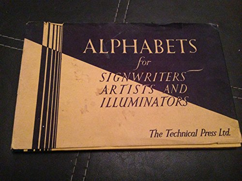 9780291392558: Alphabets for Signwriters, Artists and Illuminators