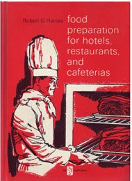 9780291392572: Food Preparation for Hotels, Restaurants and Cafeterias