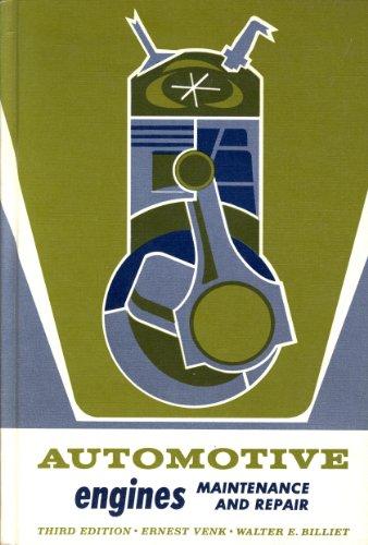 9780291392671: Automotive Engines: Maintenance and Repair