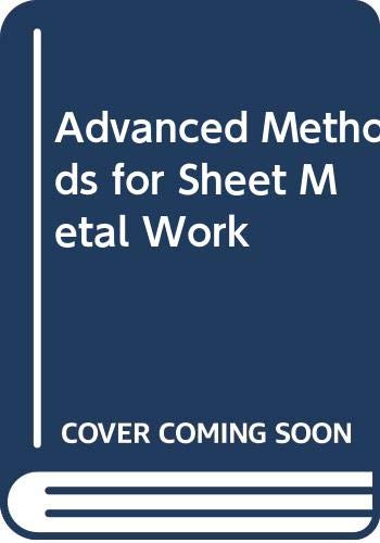 9780291394279: Advanced Methods for Sheet Metal Work