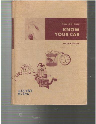 Know Your Car: Allen, Willard A.