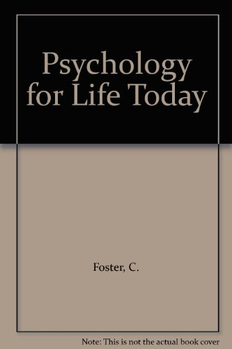 9780291394989: Psychology for Life Today