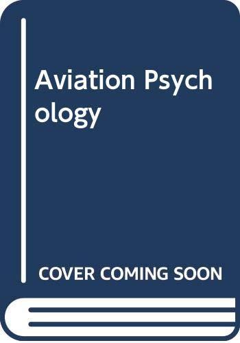 9780291397782: Aviation Psychology