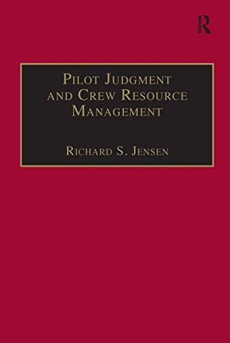9780291398048: Pilot Judgment and Crew Resource Management