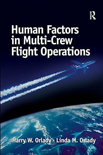 9780291398390: Human Factors in Multi-Crew Flight Operations