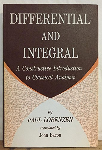 9780292701144: Differential and Integral