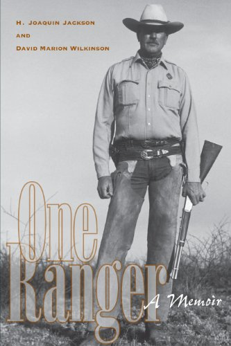 9780292702592: One Ranger: A Memoir (Bridwell Texas History Series)